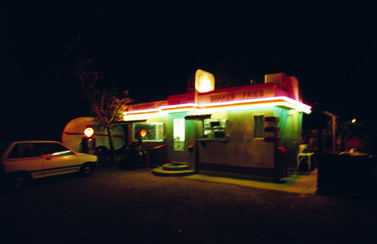 Dot's Diner at the Shady Dell Trailer and RV Park