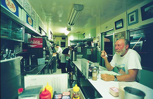Dot's Diner at the Shady Dell, ©2001 Martin Trailer